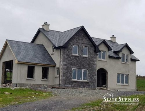 Cloncovet, Kilcogy, Co. Cavan, Ireland. Natural Roof Slate